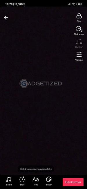 Halaman Pengeditan Android