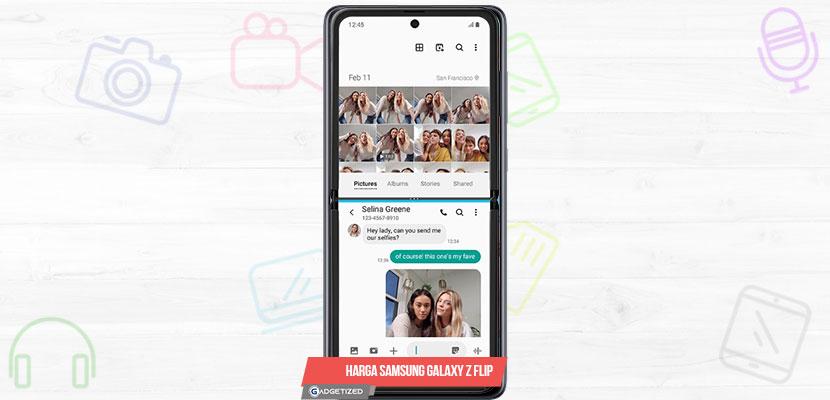 Harga Samsung Galaxy Z Flip dan Spesifikasi Lengkap