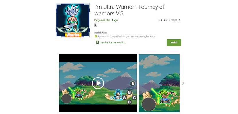 I'm Ultra Warrior : Tourney of Warriors V.5