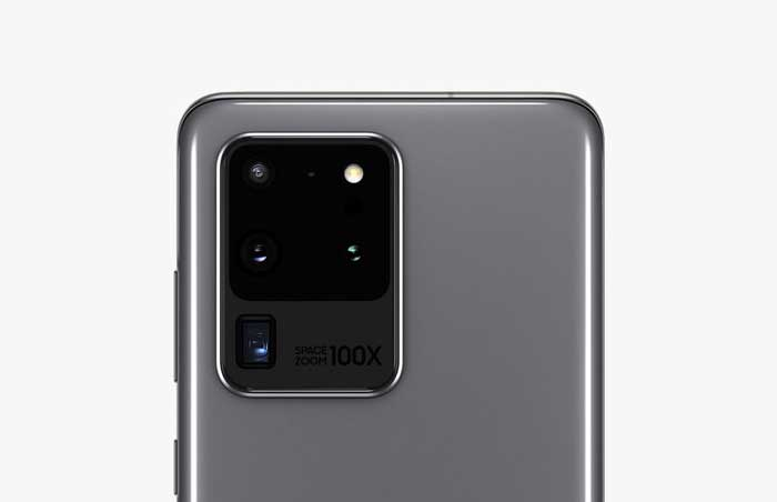 Kamera Utama Samsung Galaxy S20 Ultra 5G