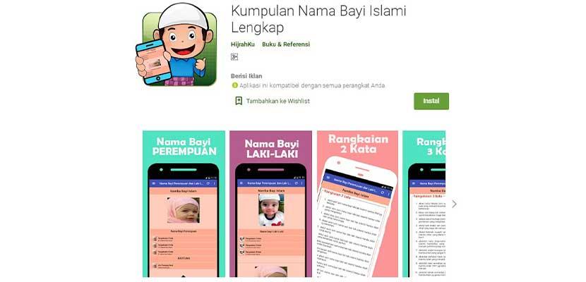 Kumpulan Nama Bayi Islami Lengkap