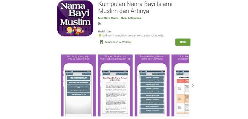 Kumpulan Nama Bayi Islami Muslim dan Artinya