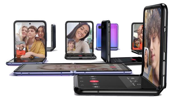 Layar Lipat Samsung Galazy Z Flip
