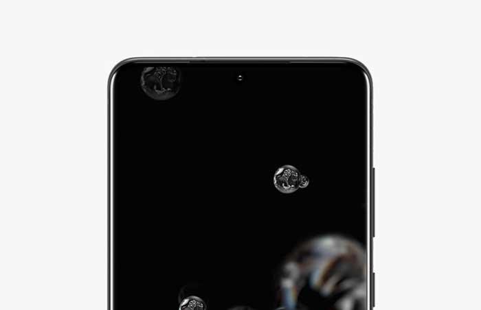 Layar Samsung Galaxy S20 Ultra 5G