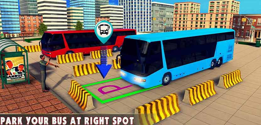 Modern Bus Drive 3D Parking New Games FFG Bus Game Android