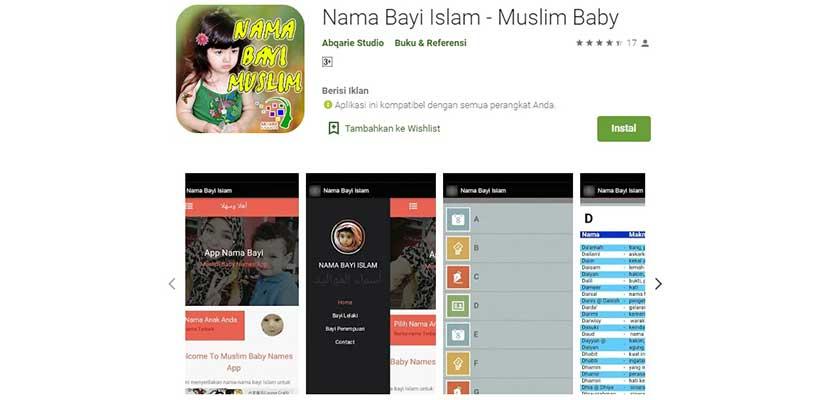 Nama Bayi Islam Muslim Baby