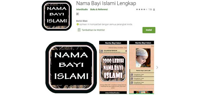 Nama Bayi Islami Lengkap