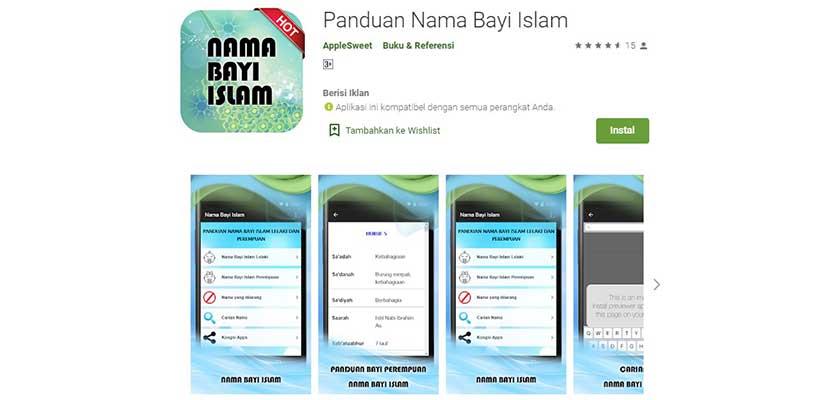 Paduan Nama Bayi Islam