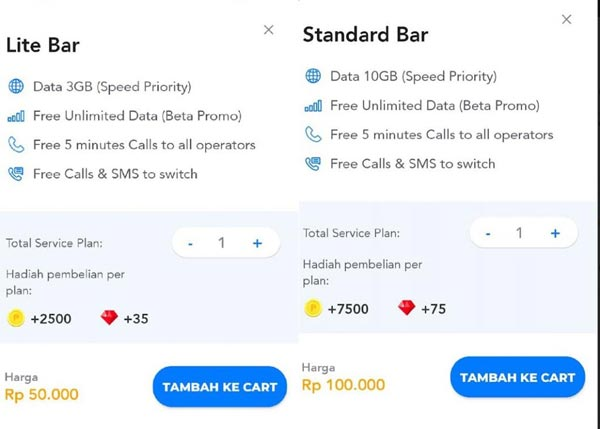Paket Switch Beta