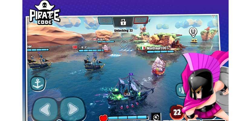 Pirate Code PVP Battles at Sea