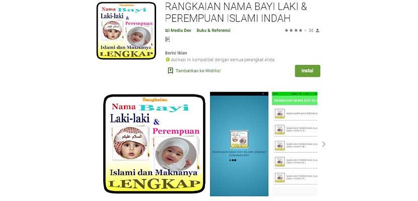 Rangkaian Nama Bayi Laki laki Perempuan Islami Indah