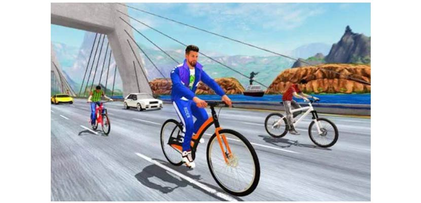 Real Bike Cycle Racing 3D