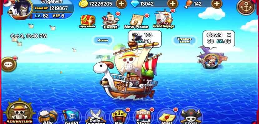 S. Pirates Adventures: Merry Go