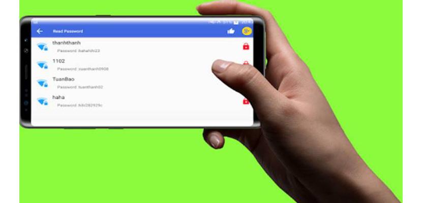 Show Wifi Password – Share Wifi Password