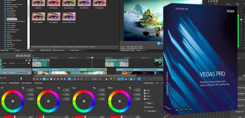 Sony Vegas Pro 17