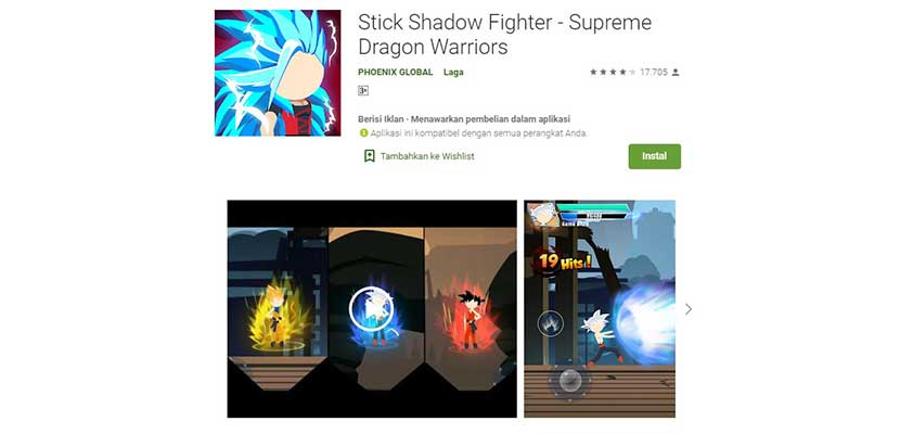 Stick Shadow Fighter Supreme Dragon Warriors
