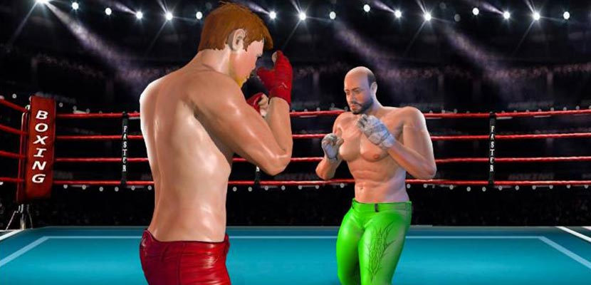Superstar Boxing Fight Game