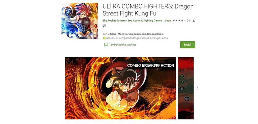 Ultra Combo Fighters: Dragon Street Fight Kung Fu