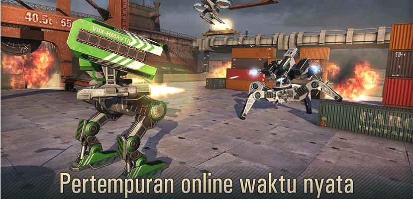 WWR Perang Robot