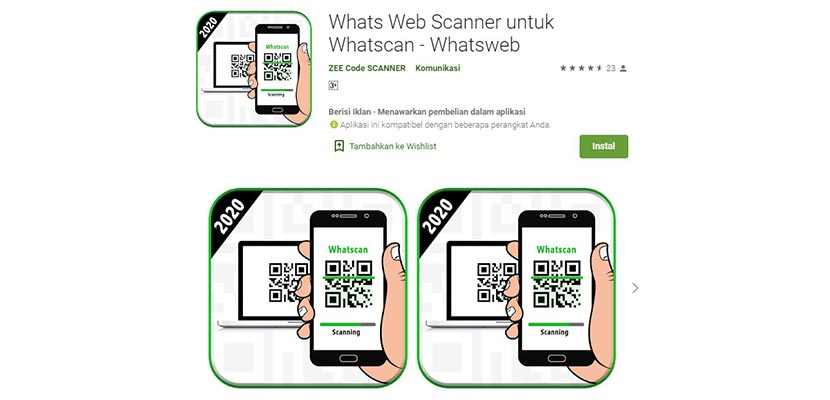Whats Scanner Web for Whatscan – Whatsweb