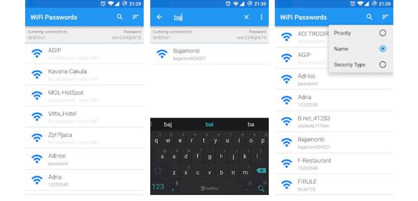 WiFi Passwords ROOT