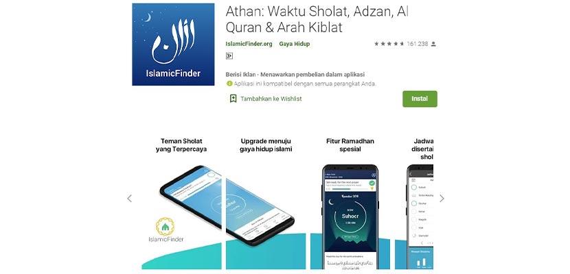 Athan Prayer Times Adzan Al Quran Qibla Finder