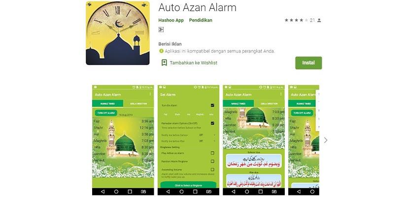 Auto Adzan Alarm