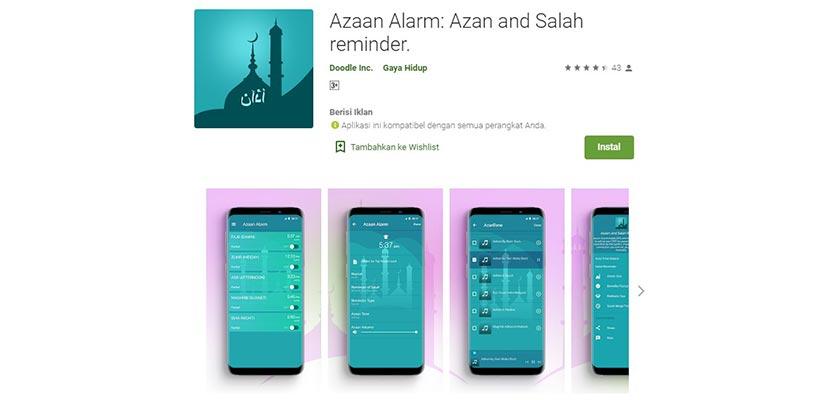 Azaan Alarm Adzan and Salah reminder