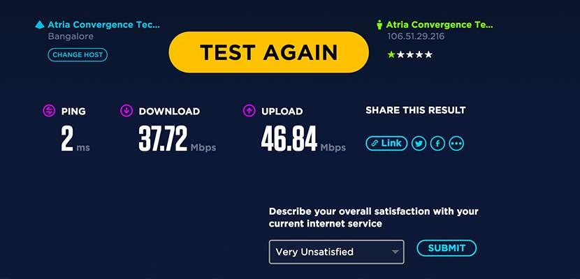 Cara Cek Kecepatan Internet Via Speedtest.net