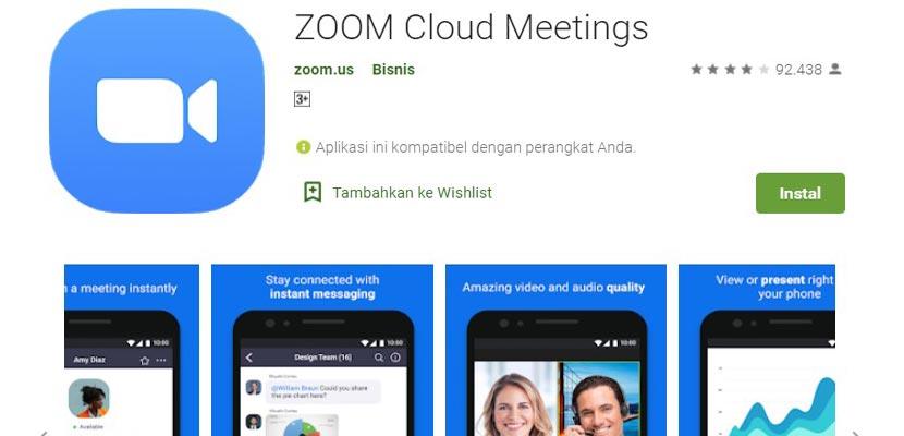 6 Cara Menggunakan Aplikasi Zoom Meeting di Android ...