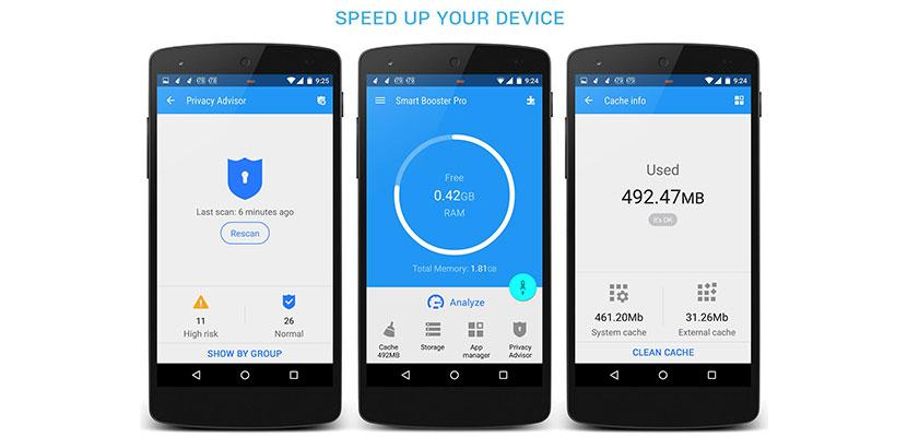 Cara menambah RAM Android dengan Aplikasi Smart Booster