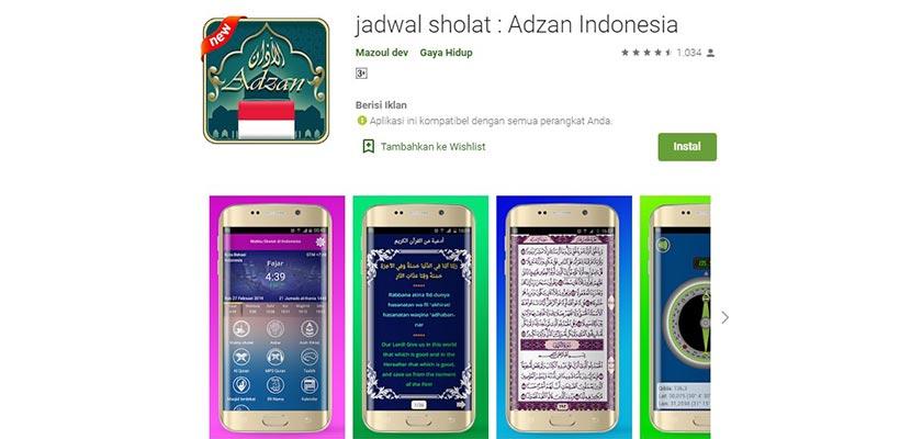 Jadwal Sholat Prayer Time Indonesia