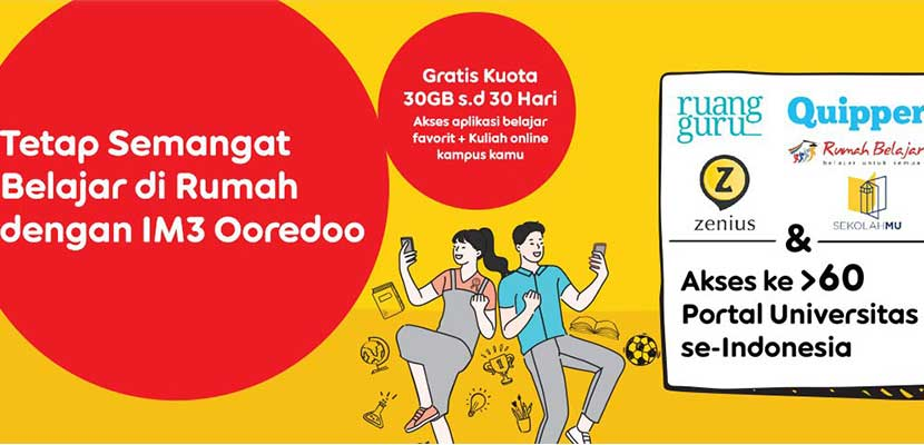 Masa Aktif Paket Edukasi Indosat