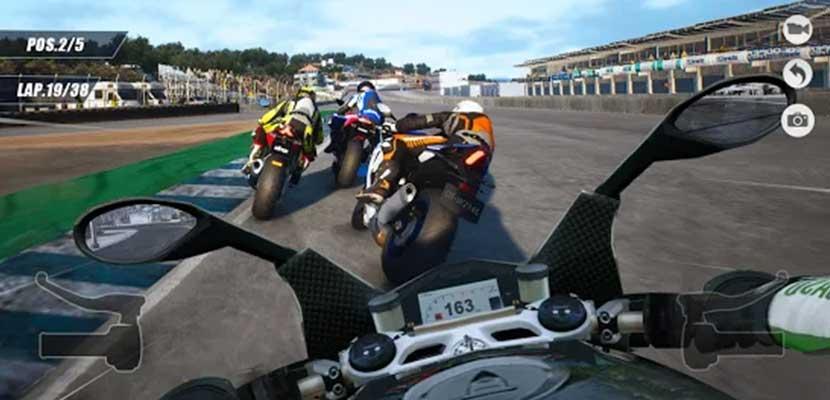 Moto Rider 3D Speed highway driving