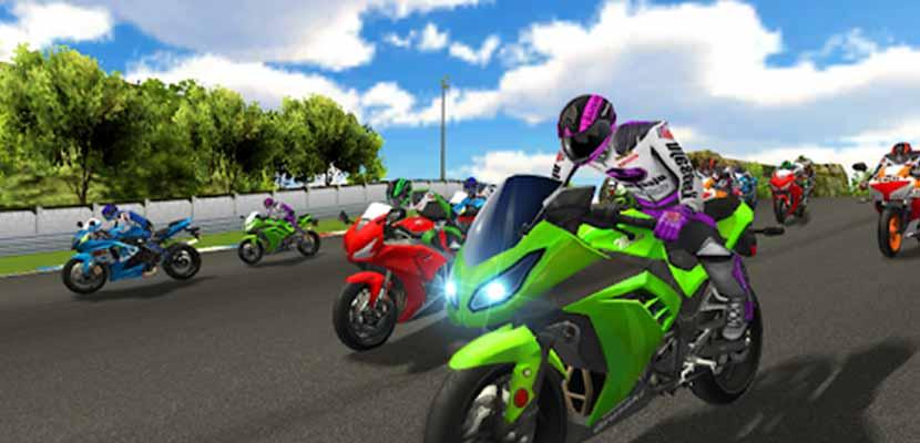 Real Moto Bike Rider 3D Highway Racing Game 2020