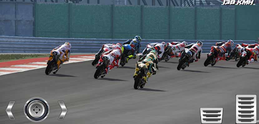 Real Motor gp Racing World Racing 2018