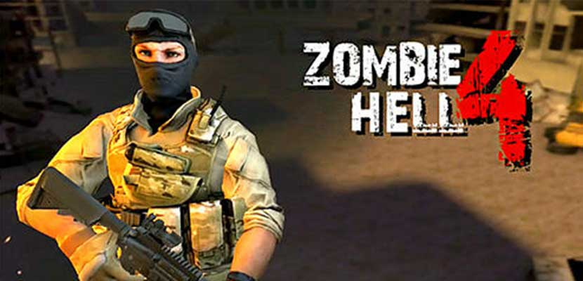13. Zombie Shooter Hell 4 Survival