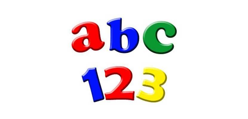 14. Belajar Huruf dan Angka