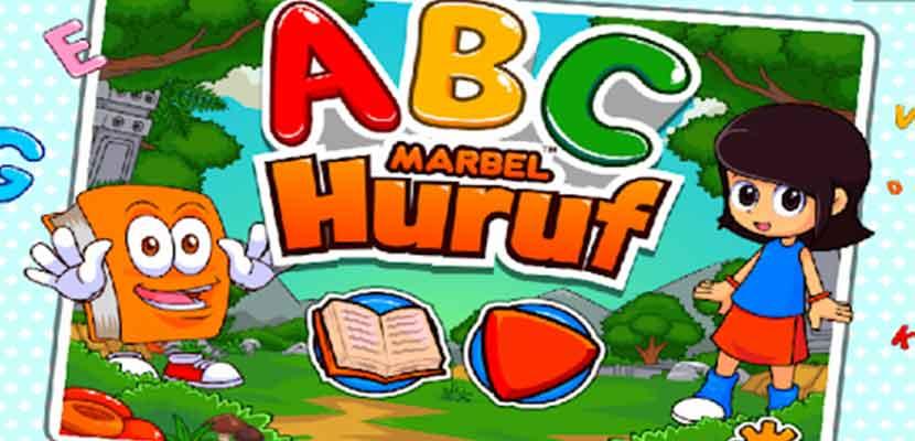 17. Belajar Huruf Alfabet Bersama Marbel