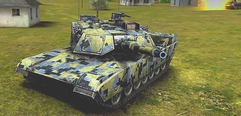 23. Army Tank Battle War Armored Combat Vehicle Game