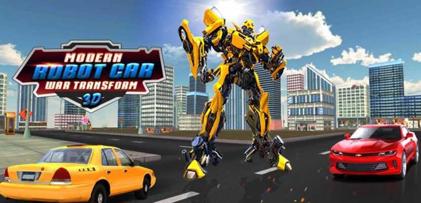 5. Robot Car War Transform Fight