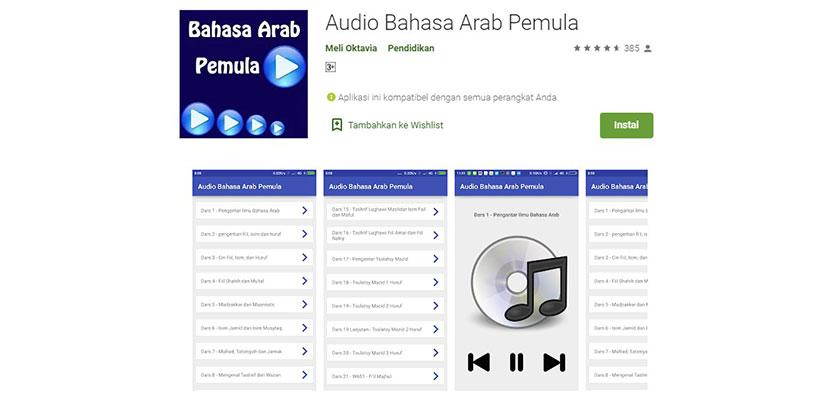 Audio Bahasa Arab Pemula