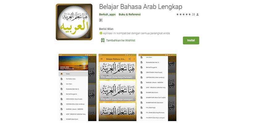 Belajar Bahasa Arab Lengkap