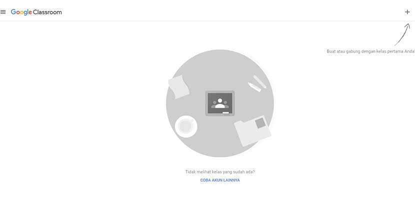 Cara Bergabung di Gooogle Classroom