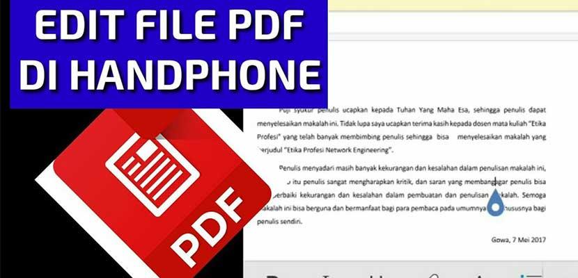 Cara Edit File PDF via Microsoft Word
