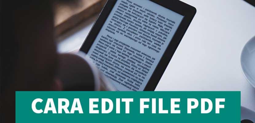 Cara Mengedit File PDF di Android Paling Mudah