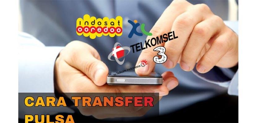Cara Transfer Pulsa Indosat Ooredoo Ke Operator Lain