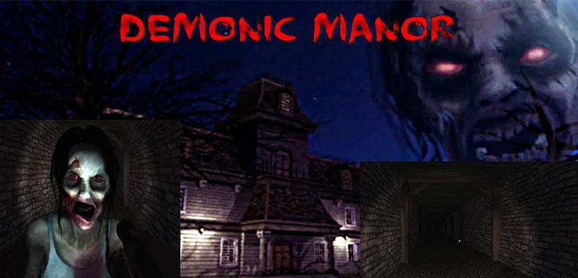 Demonic Manor Horror survival game