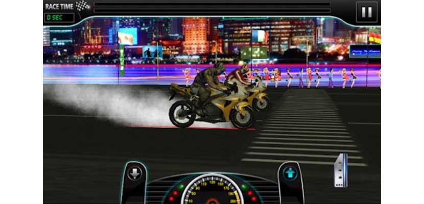 Drag Race Heavy Bike Version
