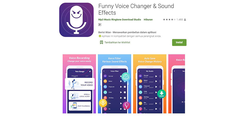 Funny Voice Changer Sound Effects